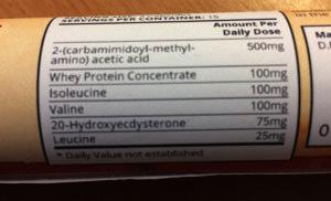 Dbal Max Ingredients