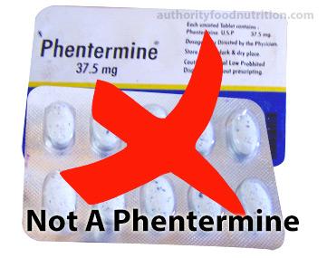 Phen 375 is not Phentermine-37-5