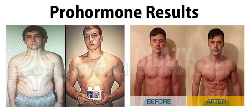 Results of Using Prohormones