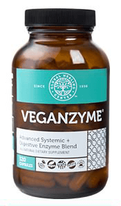 veganzyme digestive enzymes supplement