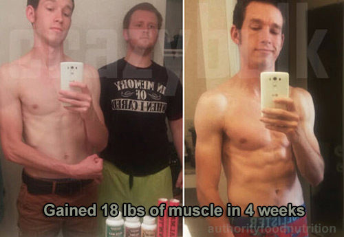 Result of Testosterone Booster Pill